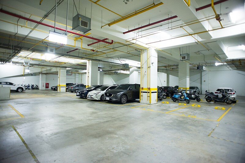 sDAS Indoor Coverage (Parking Lot)
